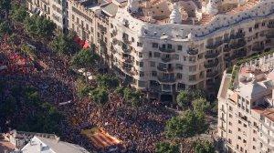 Manifestació del 10 de Juliol de 2010 a Barcelona.