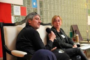 La Pilar Bonet i en Josep Abril